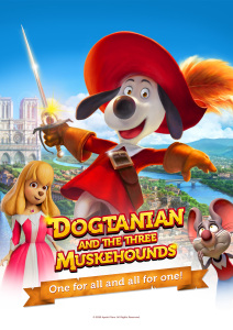 Film poster for: Dogtanian and the Three Muskehounds