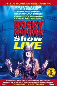 Film poster for: The Rocky Horror Show Live
