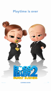Film poster for: The Boss Baby 2: Family Business