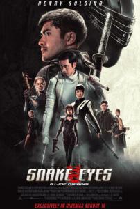 Film poster for: Snake Eyes: G.I. Joe Origins