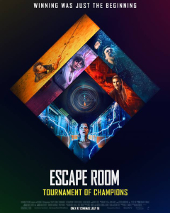 Film poster for: Escape Room: Tournament of Champions