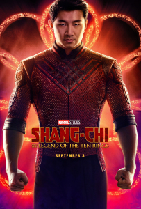 Film poster for: Shang-Chi and the Legend of the Ten Rings