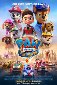 Film poster for: The Paw Patrol Movie