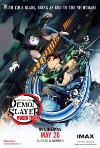 Film poster for: Demon Slayer: Mugen Train