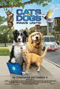 Film poster for: Cats & Dogs 3: Paws Unite