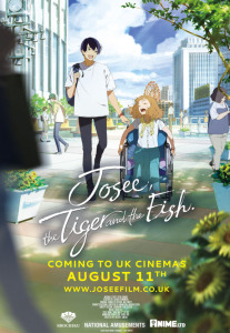 Film poster for: Josee, the Tiger and the Fish