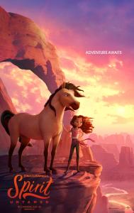 Film poster for: Spirit Untamed