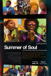 Film poster for: Summer of Soul (...Or, When the Revolution Could Not Be Televised)