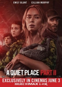 Film poster for: A Quiet Place Part II with LIVE Q&A from John Krasinski