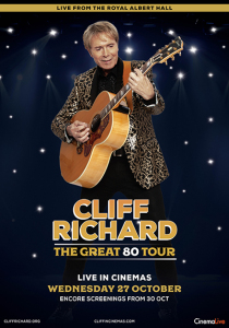 Film poster for: Cliff Richard: The Great 80s Tour