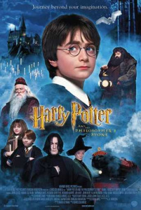 Film poster for: Harry Potter and the Philosophers Stone 20th Anniversary
